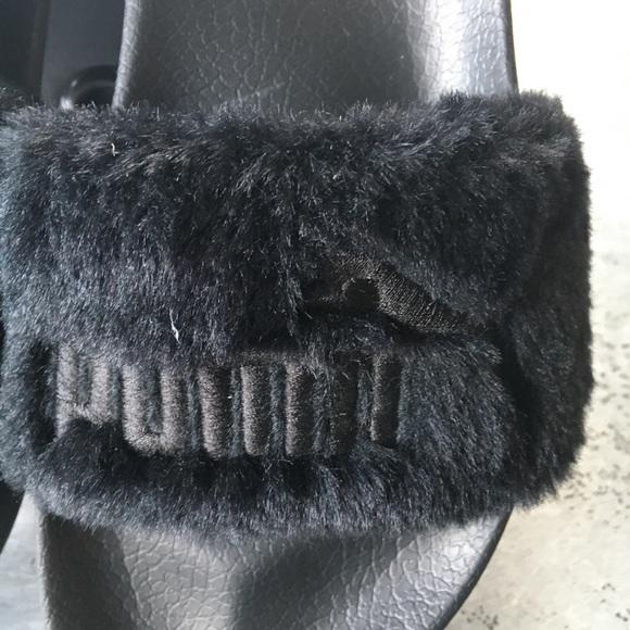 Puma Fenty Desliza Negro 7,5